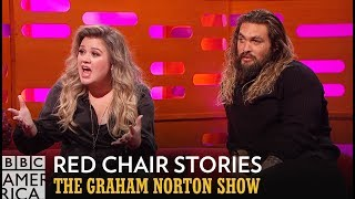 connectYoutube - Kelly Clarkson Is Offended By This Bizarre Red Chair Story - The Graham Norton Show
