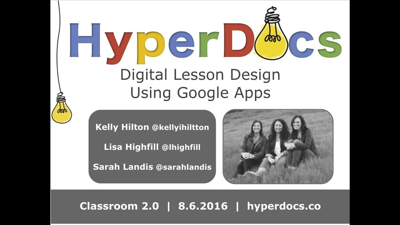Download HyperDocs: Digital Lesson Design Using Google Apps