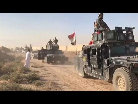 Forças de Bagdade cercam Kirkuk