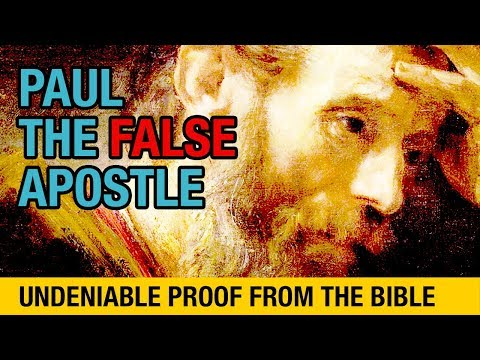 Undeniable Proof That Paul Was A Liar And False Apostle In Under 2 Minutes