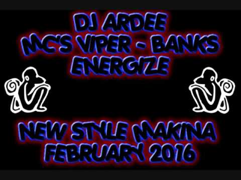 Dj Ardee - Mc Viper - Banks - Energize - Feb 2016