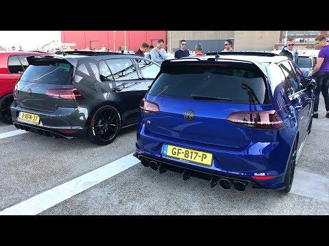 VW GOLF GTI + R Meeting! Mk4, Mk5, Mk6, Mk7, GTI & R!
