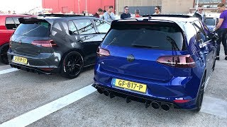 VW GOLF GTI + R Meeting! Mk4, Mk5, Mk6, Mk7, GTI & R!