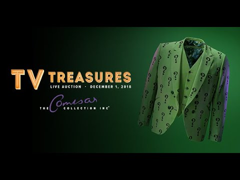 Classic Batman 66 Original Props & Costumes I TV Treasures Auction