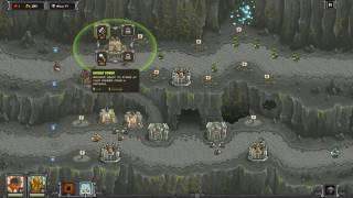 The Dark Descent - Veteran Iron Challenge - Kingdom Rush Frontiers