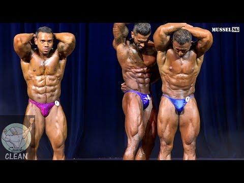 Squeaky Clean 2019 - Men's Bodybuilding (Under-80kg)*