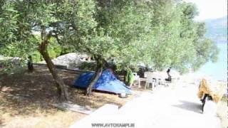 Camp site Tri Zala - island Korcula