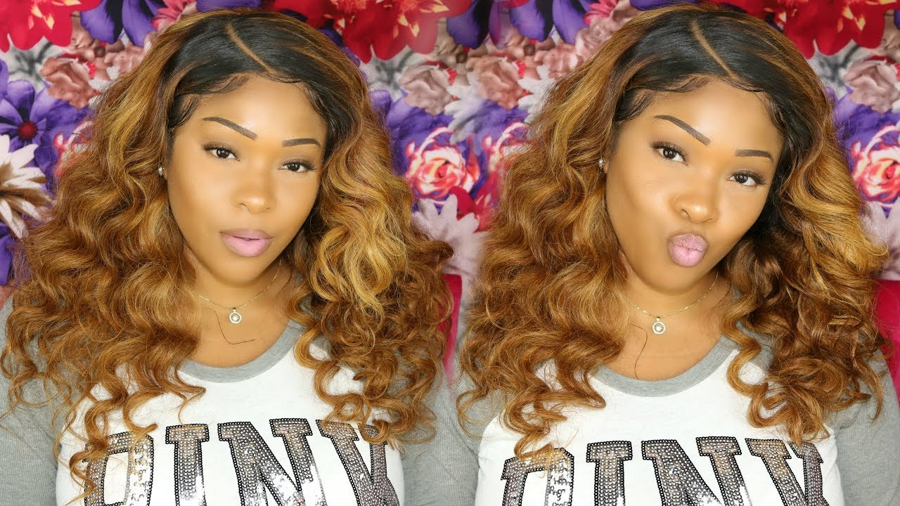 How To Dye Weave Lace Frontal From Black To Honey Blonde Custom