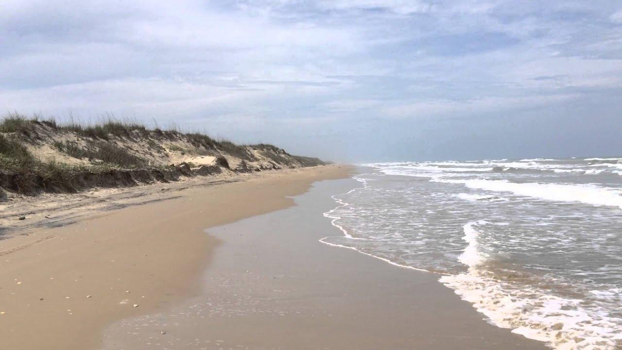 Boca Chica Beach Near The Rio Grande