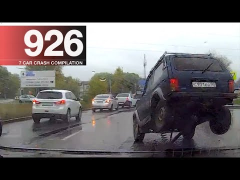 Car Crash Compilation 926 - October 2017
