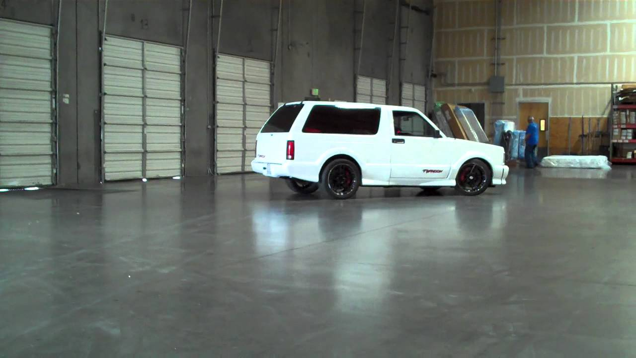 Gmc Typhoon Ls1 Swap Youtube