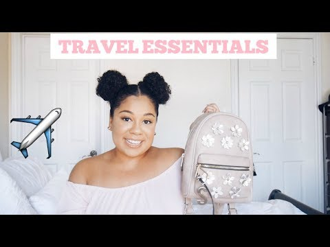 Travel Essentials- What's in my Travel Bag