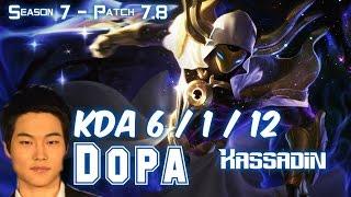 Dopa KASSADIN vs TALON Mid - Patch 7.8 KR Ranked