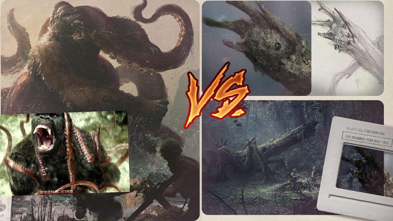 Kong Skull Island Creatures