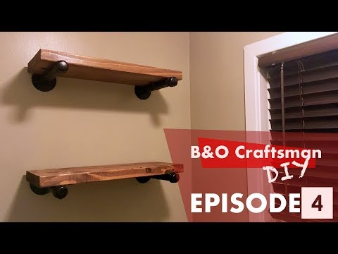 How to Make a Industrial Pipe Shelf : S1 E4