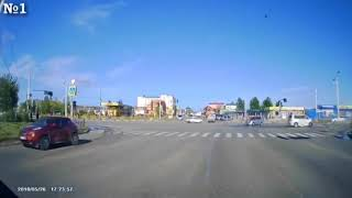 Появились видео момента ДТП на Новотроицком шоссе 2
