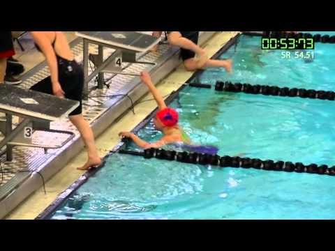 Gabby Vieira - 100 Yard Butterfly State Record - 2016 MSHSAA - Parkway West High School