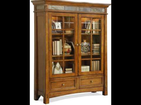 Glass Door Bookshelf _ Home Design Ideas