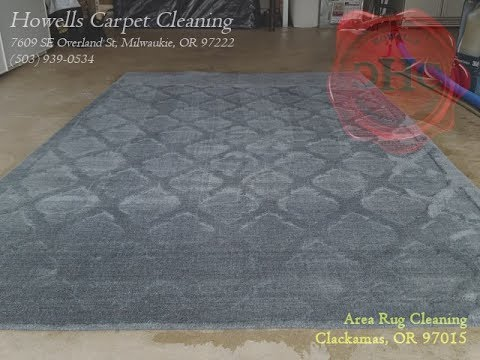 Area Rug Cleaning Clackamas - YouTube