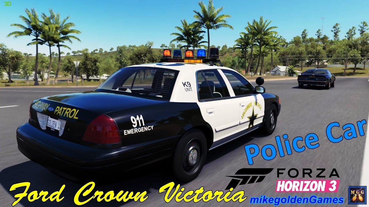 Ford crown victoria police interceptor forza horizon 3 episode 9