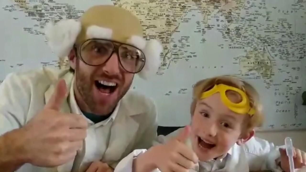 Professor Steam - STE(A)M challenge: de knikkerbaan - YouTube