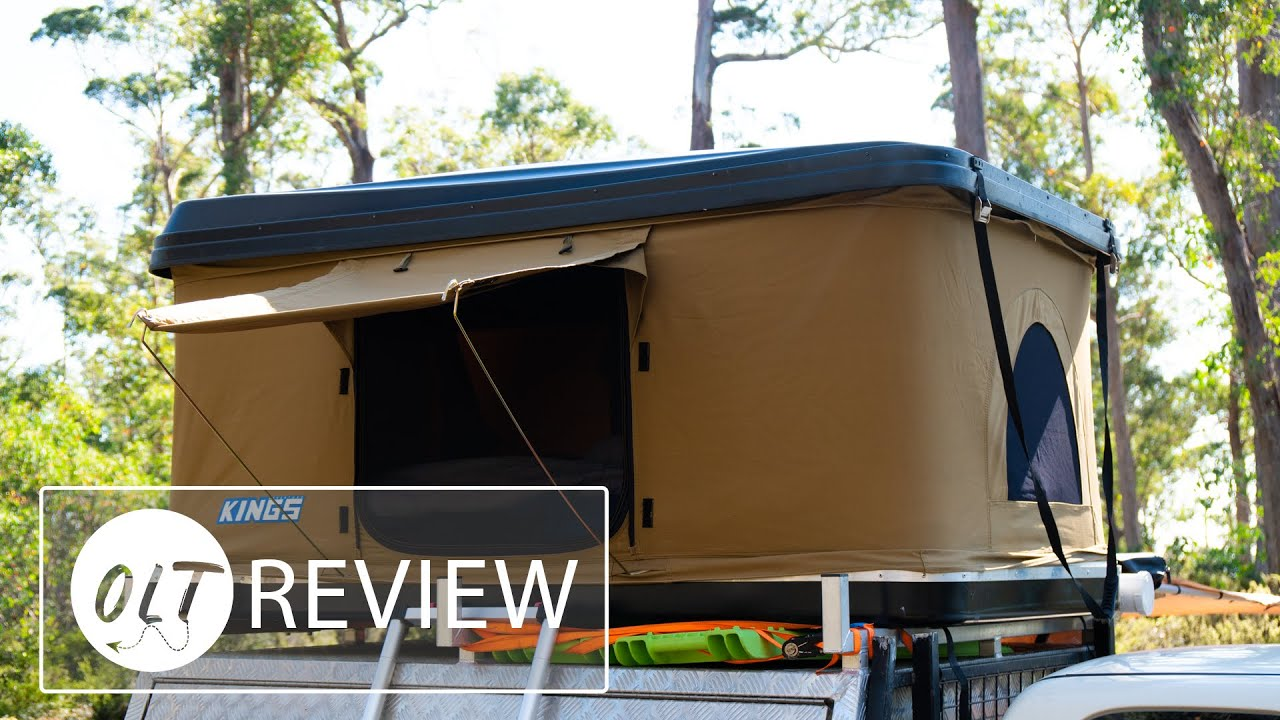 Kings Kwiky Rooftop Tent Review Is It Any Good No It Broke Watch My Other Video Where It Broke Youtube