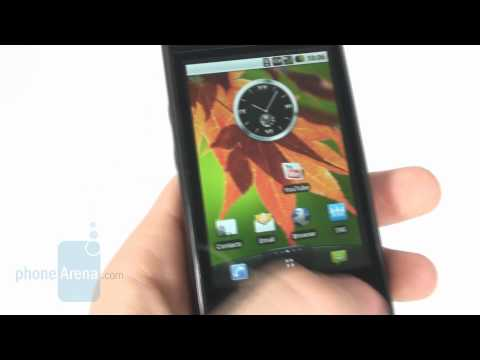 LG Optimus GT540 Review