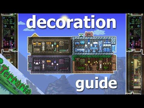 Terraria builders guide part 4 - Decoration/furniture!