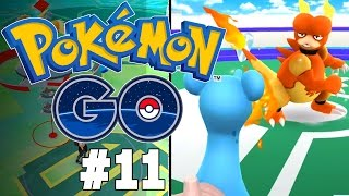 Pokemon GO Part 11 - ALL THE GYM FIGHTS!! Gameplay Walkthrough