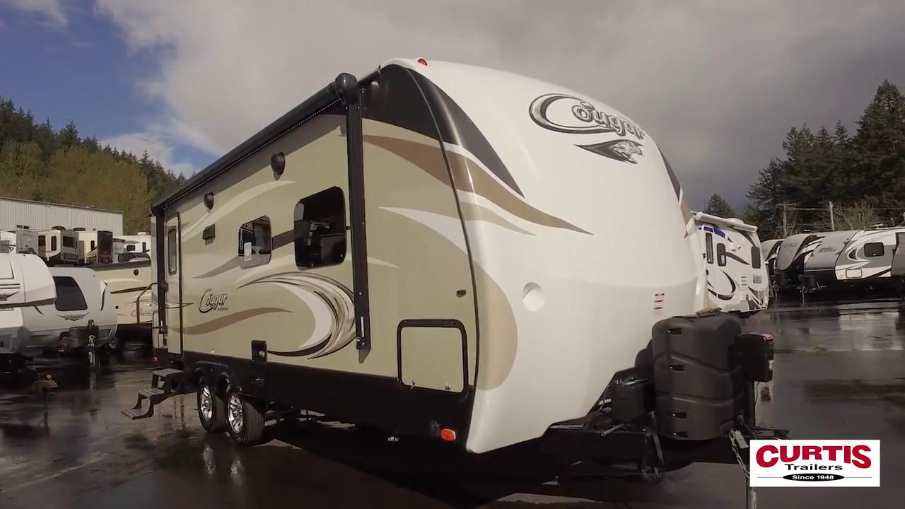 Cougar Travel Trailers >> 2018 Keystone Cougar Half Ton 24RBSWE - YouTube