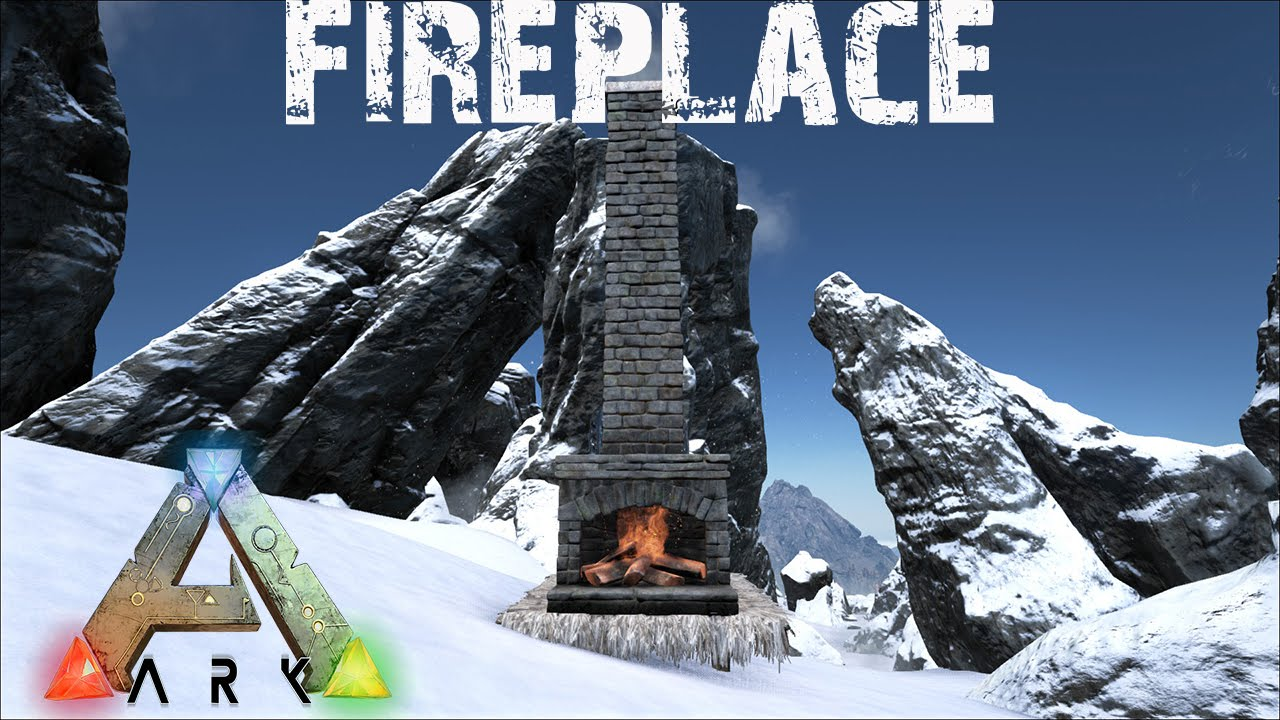 ARK: Survival Evolved - Fireplace: Stay warm during the Winter ...