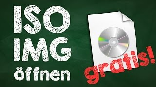 ISO Image öffnen Windows, virtuelles Datenträgerabbild, CD/DVD mounten, Virtual CloneDrive,