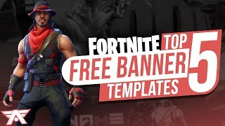 TOP 5 FORTNITE THUMBNAILTEMPLATE 2019 - Free Download #4 | Photoshop