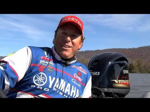 Yamaha Pro Angler & BassMaster Elite Series Pro Dean Rojas on V MAX SHO