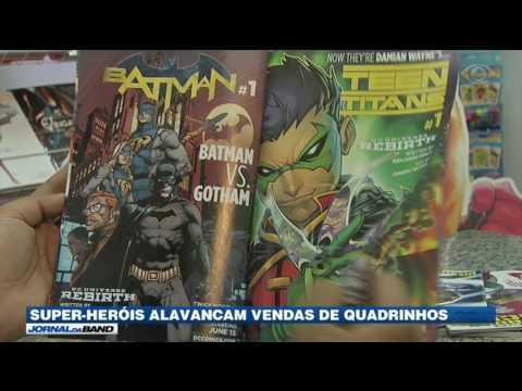 Super-heróis alavancam vendas de quadrinhos no Brasil