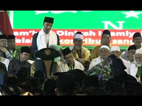 Presiden Jokowi Buka Munas Alim Ulama Nahdlatul Ulama
