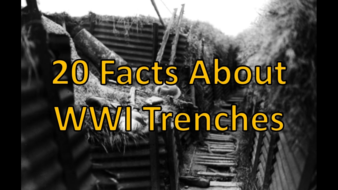 Diagram Of Trench Ww1 Wiring Diagrams Facts About Trenches Youtube System Machine Guns