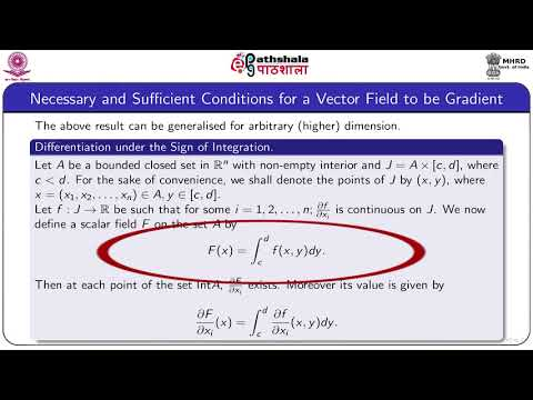 Necessary and Sufficient Conditions for a Vector Field to be Gradient