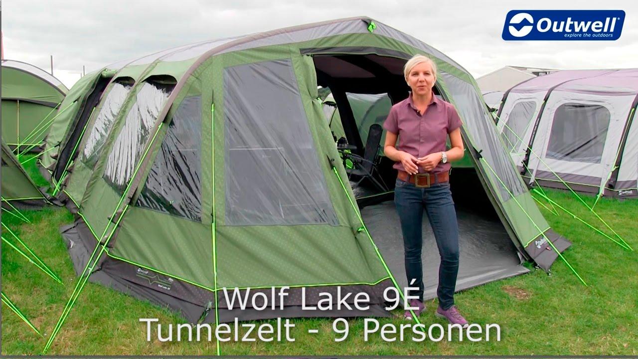 outwell wolf lake 9e zelt bestes aufblasbares zelt in. Black Bedroom Furniture Sets. Home Design Ideas