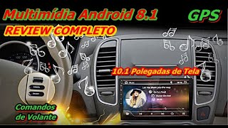 Central Multimídia Android 10 Polegadas com GPS - iMars 10.1Inch 2Din for Android 8.1 Car MP5 Player