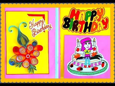 Best Handmade Birthday Greeting Card For Friend