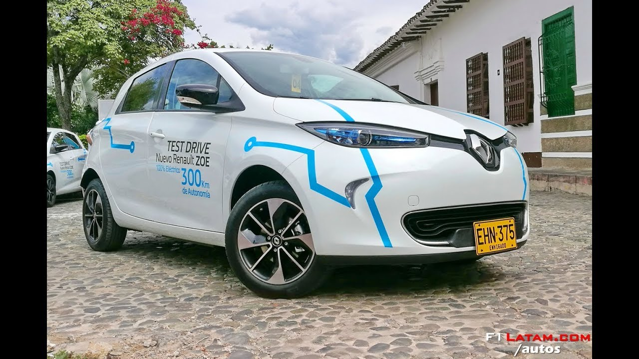 Nuevo Renault ZOE 2018 (Auto 100% Eléctrico) En Colombia