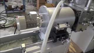 Reprocessing plastics machine in Kenya