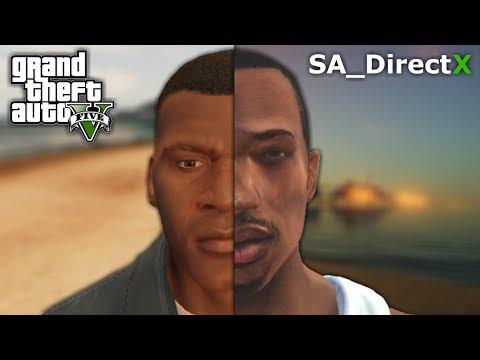 GTA V Vs SA_DirectX 2.0 (Graphics Comparison)