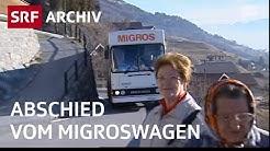 Letzter Migroswagen im Wallis (2007) | Leben im Bergdorf | SRF Archiv
