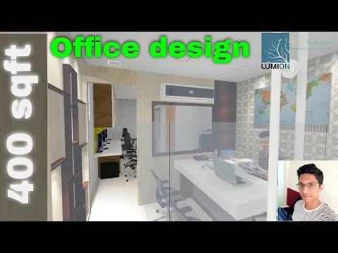 View For 400 sqft. Office, Sketchup and lumion Mp3