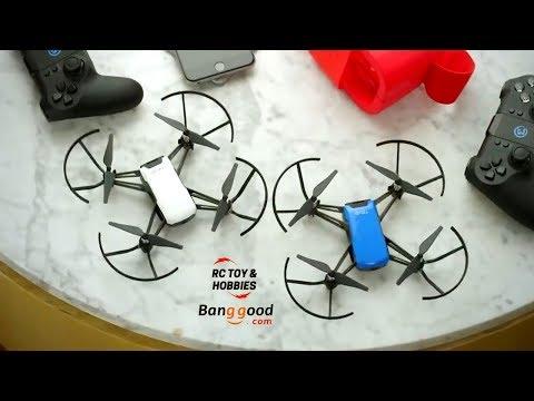 DJI Tello Drone BNF w/ 5MP HD Camera 720P WiFi FPV 8D Flips Bounce Mode  STEM Coding Compatible Controller VR