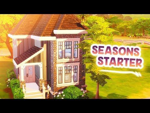 SEASONS STARTER 🌸🍂 // The Sims 4: Speed Build