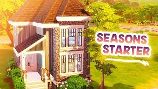 SEASONS STARTER 🌸🍂 // The Sims 4: Speed Build