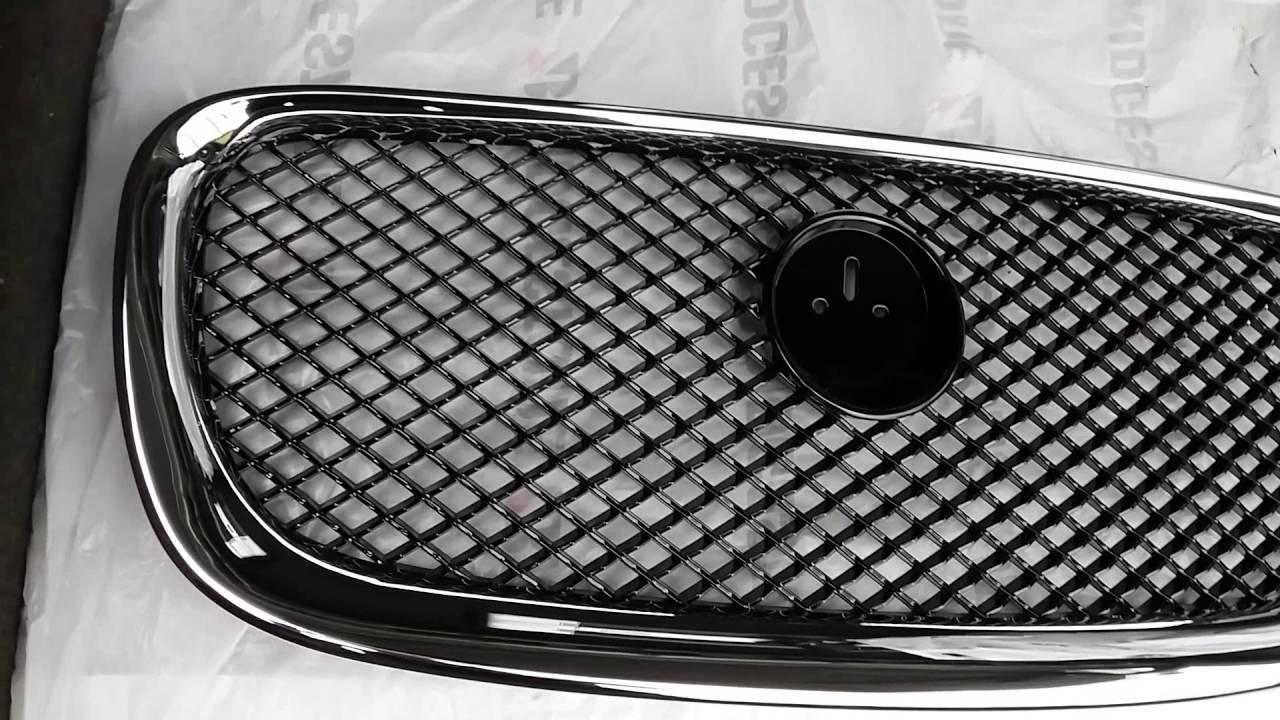 Jaguar XF Решетка радиатора рестайлинг